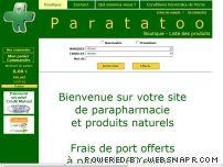 Paratatoo : parapharmacie conseil à prix discount